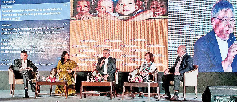 Eddie Razak at 15th edition of AFCSR convened in Myanmar- Borneo Bulletin, 26th Sept 2016