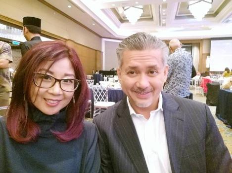 Eddie Razak with Elain Lockman equity crowdfunder ATA Plus
