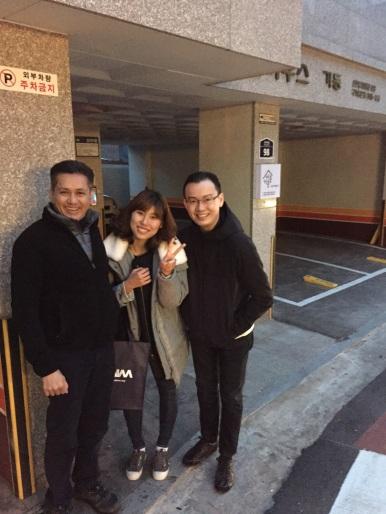 Eddie Razak and Richard visit Slug House in Korea - Nov 2015