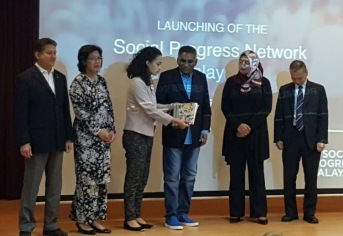 Eddie Razak at launch of Social Progress Network Malaysia- 16th Sept 2016