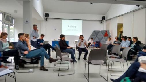 Eddie Razak at Social Innovation Europe event in Berlin, June 2015