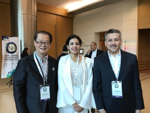Eddie Razak, Lee Chong Soo Korea Social Investment and Natasha Garcha Impact Investment Exchange Asia at SEIC2017 Conference 13 Mar 2017
