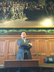 Eddie Razak on Asian Governments Delegation at the Houses of Parliament UK - Nov 2014