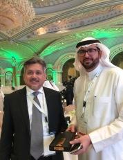 Eddie Razak speaking at King Fahd Unversity Forum on Nonprofits in Riyadh by invitation of Dr Hattan Tawfiq - Dec 2016