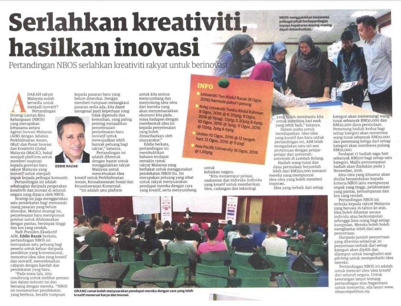 eddie-razak-utusan-malaysia-serlahkan-kreativiti-hasilkan-inovasi-nbos-competition-160819