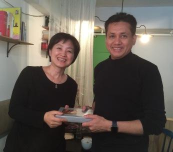 Eddie Razak visit Community Housing Korea - Nov 2015