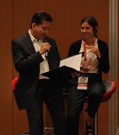 Eddie Razak with Joana Cruz Ferreira Social Investment Lab Portugal - Oct 2015