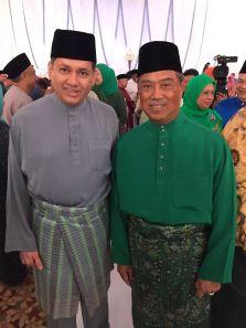 Eddie Razak with YB Tan Sri Muhyiddin Yassin former Deputy Prime Minister