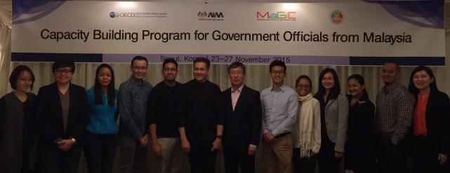 OECD Korea hosted AIM, MaGIC, YIM - Nov 2015