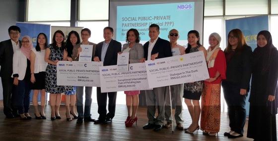Social Public-Private Partnership award - Dec 2015