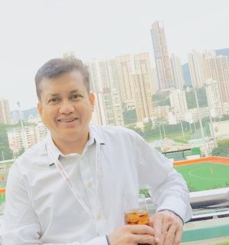 Eddie Razak at the Hong Kong Jockey Club which donated US$500 million last year to 189 charities