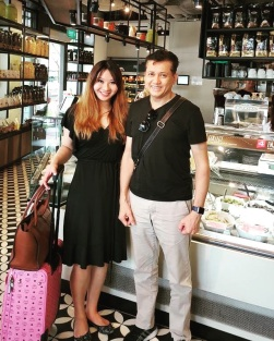 Eddie Razak and Dr Melissa Foo of Agensi Inovasi Malaysia