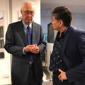 Emeritus Senior Minister and former Prime Minister of Singapore Goh Chok Tong
