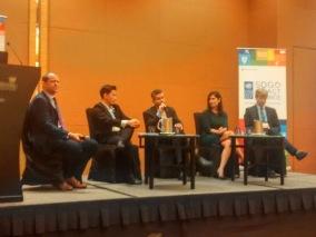 Eddie Razak speaking on panel on Financing the SDGs at UNDP Responsible Business Forum at Marina Bay Sands 21 Nov 2017