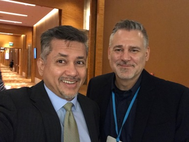 Eddie Razak and David Galipeau founder of United Nations Social Impact Fund